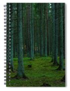 In The Middle Of The Forest Spiral Notebook