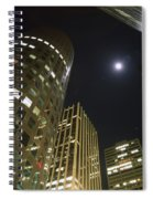 In The Midst Of The City Spiral Notebook