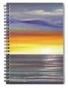 In The Moment Panoramic Sunset Spiral Notebook