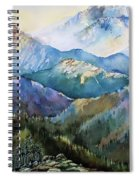 In The Mountains Spiral Notebook