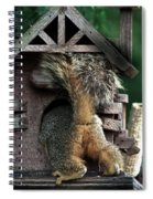 In The Nut House Spiral Notebook