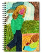 In The Park Spiral Notebook