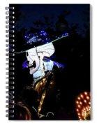 In The Park In The Dark Spiral Notebook
