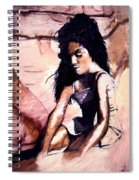 In The Sand Spiral Notebook