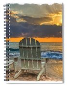 In The Spotlight Bordered Spiral Notebook