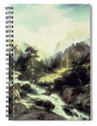 In The Teton Range Spiral Notebook