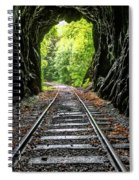 In The Tunnel Spiral Notebook