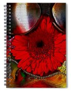 In The Wood Of Fantasy By The Water Spiral Notebook