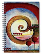 In The World Of Balance Spiral Notebook
