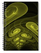 In The Yellow Tunnel Spiral Notebook