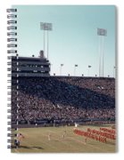 In This Vintage 1955 Photo The University Of Texas Longhorn Band Spiral Notebook
