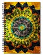 In Tune Mandala Spiral Notebook