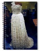 Inaugural Gown On Display Spiral Notebook