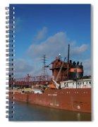 Inbound To Severstal Spiral Notebook