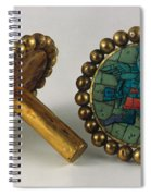 Inca Earrings Spiral Notebook