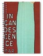 Incandescence Par Le Gaz  1892 Spiral Notebook