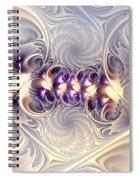 Incandescent Reminiscences Spiral Notebook