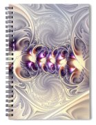 Incandescent Reminiscences Spiral Notebook