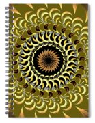 Incendia Kaleidoscope Spiral Notebook