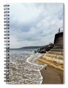 Incoming Tide - Charmouth Spiral Notebook