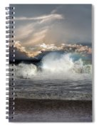 Incoming Tide Spiral Notebook
