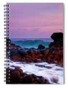 Incoming Wave Spiral Notebook