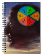 Indecision Yes Or No Spiral Notebook