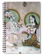 India: Couple Spiral Notebook