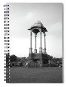 India Gate - Monochrome Spiral Notebook