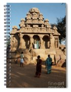 India Mahabalipuram  Spiral Notebook