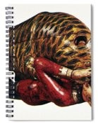 India: Tiger Attack Spiral Notebook