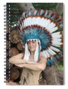 Indian 018 Spiral Notebook
