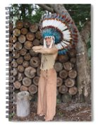 Indian 020 Spiral Notebook