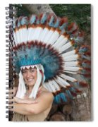 Indian 021 Spiral Notebook