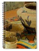 Indian Baskets 1 Spiral Notebook