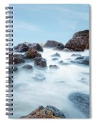 Indian Beach At Ecola State Park, Oregon  Spiral Notebook