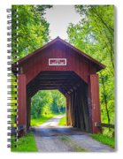 Indian Camp Covered Bridge Spiral Notebook