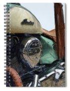 Indian Chief Vintage L Spiral Notebook