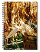 Indian Corn Spiral Notebook
