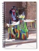 Indian Dancer Spiral Notebook