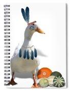 Indian Duck Spiral Notebook