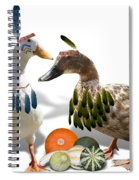 Indian Ducks Spiral Notebook