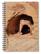 Indian Dwelling Canyon De Chelly Spiral Notebook