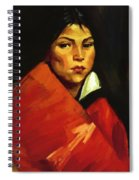 Indian Girl 1916 Spiral Notebook