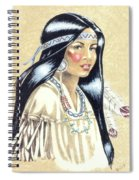Indian Girl Spiral Notebook