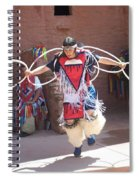 Indian Hoop Dancer Spiral Notebook