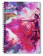 Indian Kathak Dance 87y Spiral Notebook