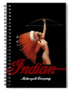 Indian Motorcycle Company Pinline Spiral Notebook