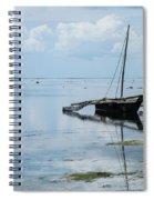 Indian Ocean At Lowtide Spiral Notebook