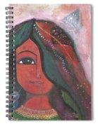 Indian Rajasthani Woman Spiral Notebook